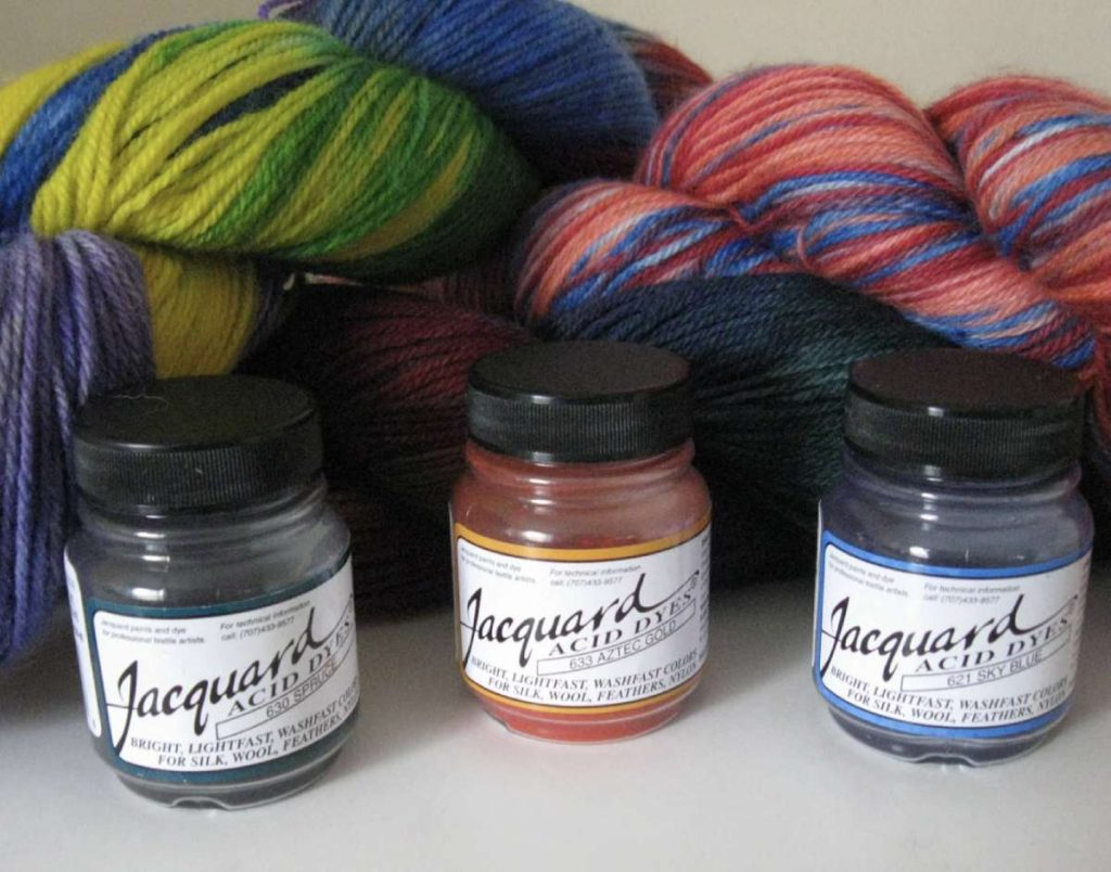 yarn dyeing gift idea for crocheters and knitters