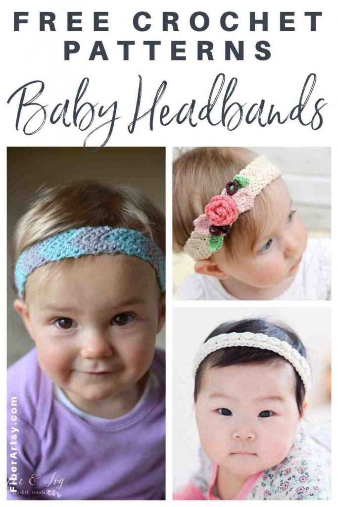 All free patterns for crochet headbands for children
