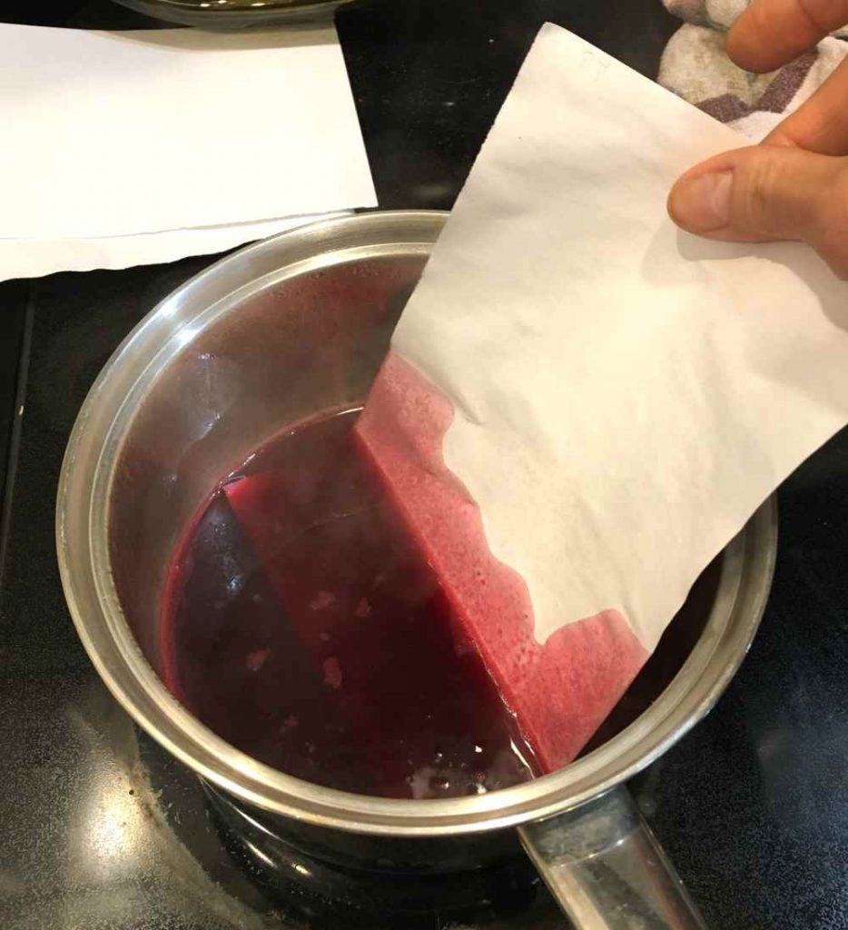 Beet stain or dye