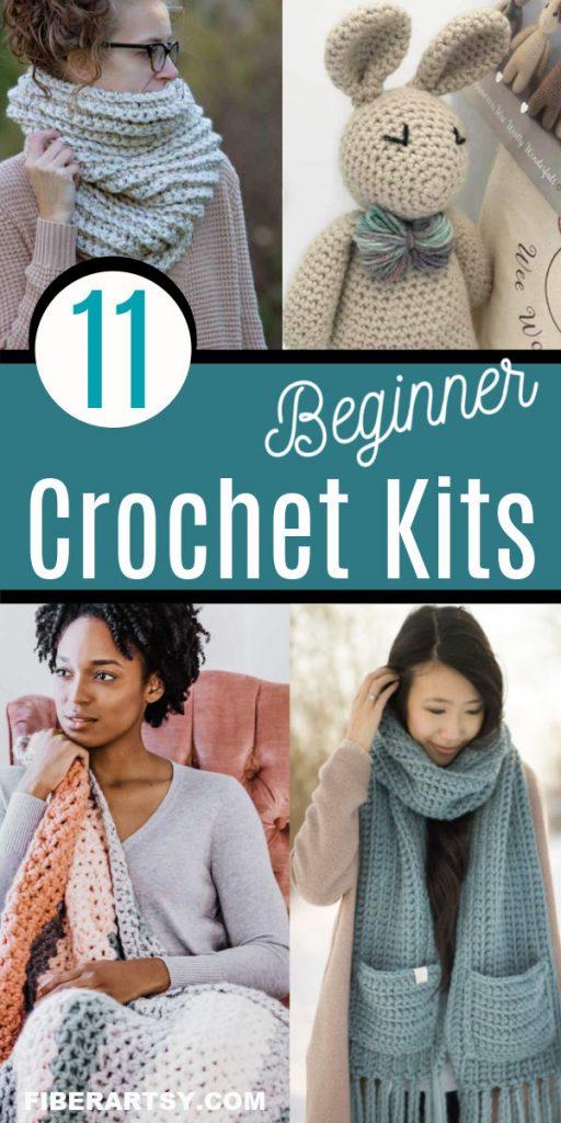 Crochet Pattern and Yarn Kits