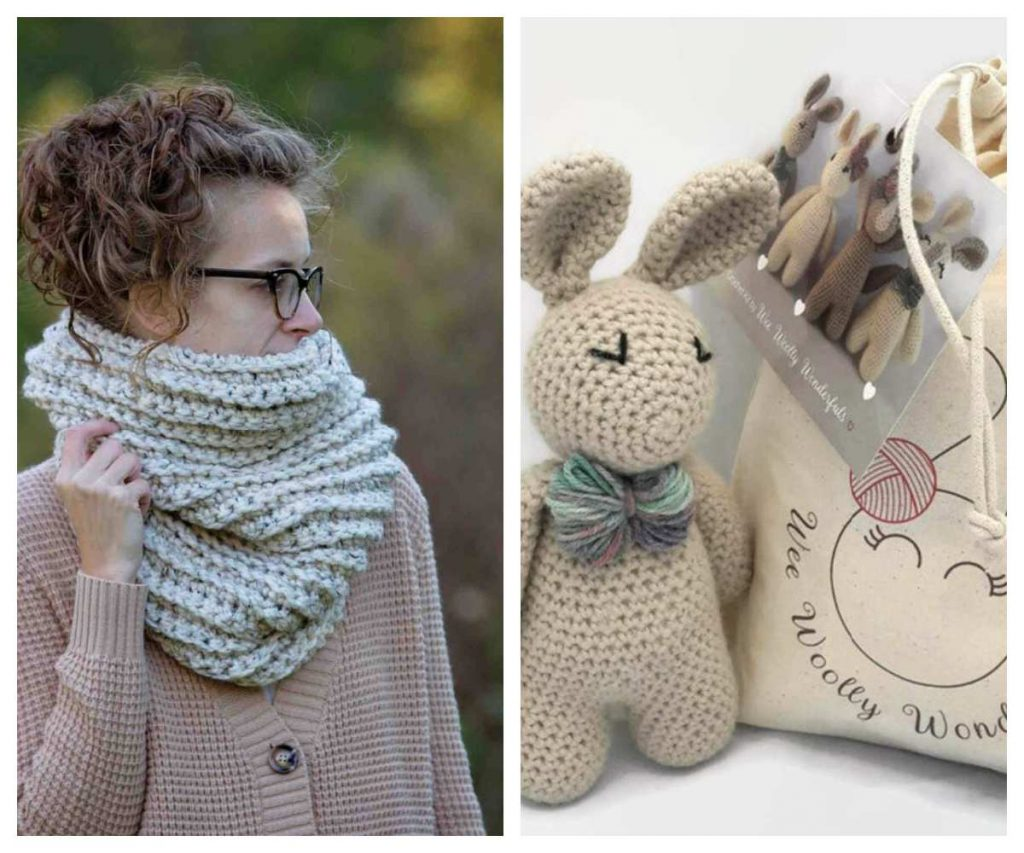 Kits for beginning crocheters