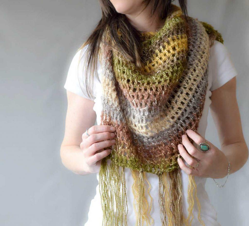One skein crochet shawl patterns