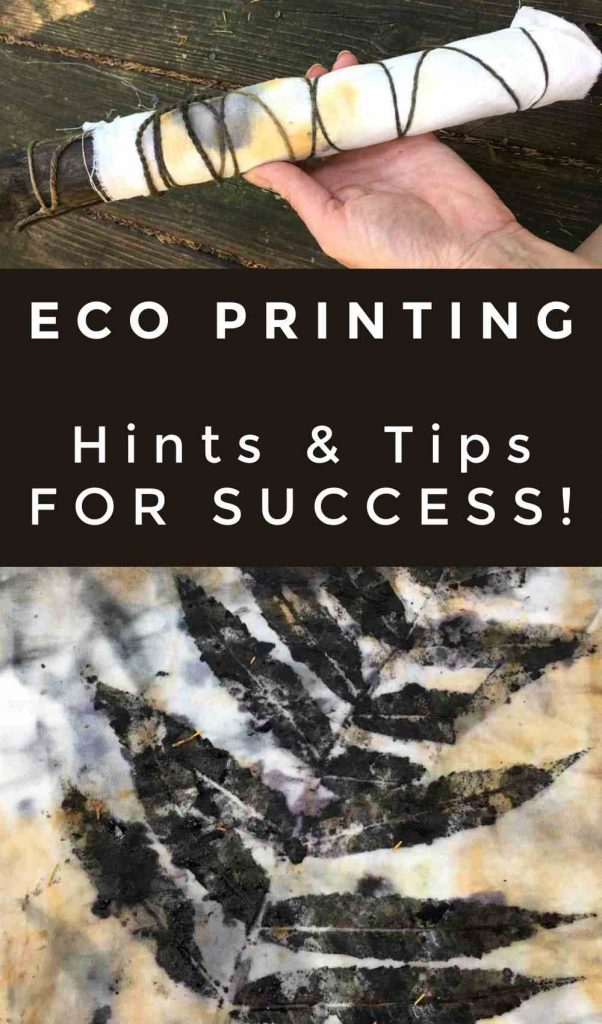 eco print tips and tricks for beginners