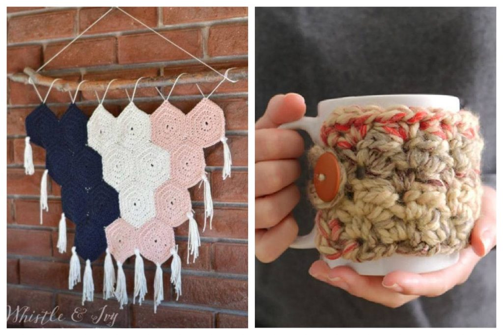 gifts to crochet for Christmas Birthdays Mother's Day