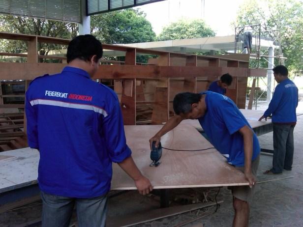 Potong Cetakan PT. Fiberboat Indonesia