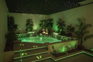 Fiber Optic Spa and Walkway