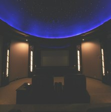Fiber Optic Home Theater Lighting