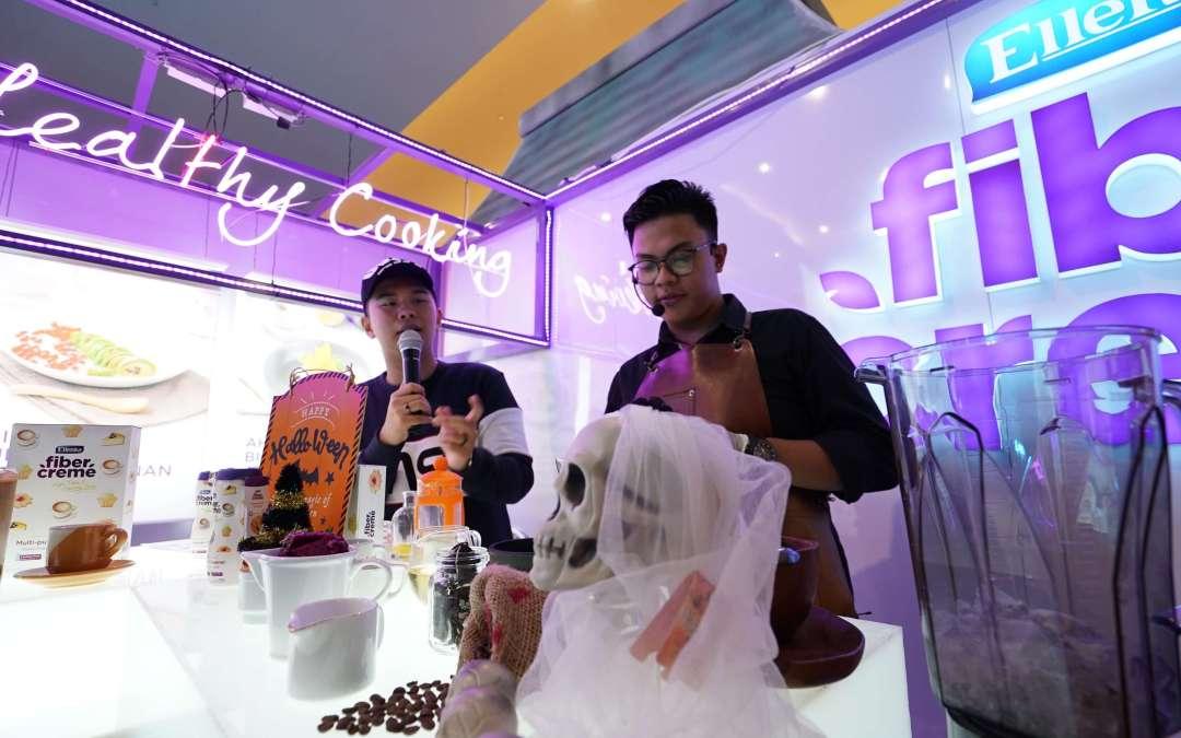Semarakkan Halloween, FiberCreme Ramaikan Kepo Market dengan Banyak Event Seru!