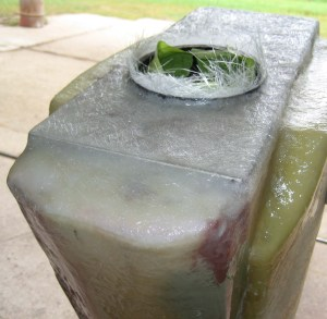 glass over alum