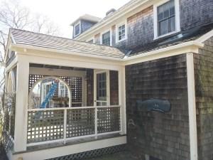 Fiberglass Gutter Installation in Falmouth Massachusetts