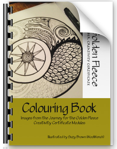 Golden Fleece Colouring Book