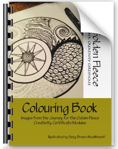 Golden Fleece Colouring Book