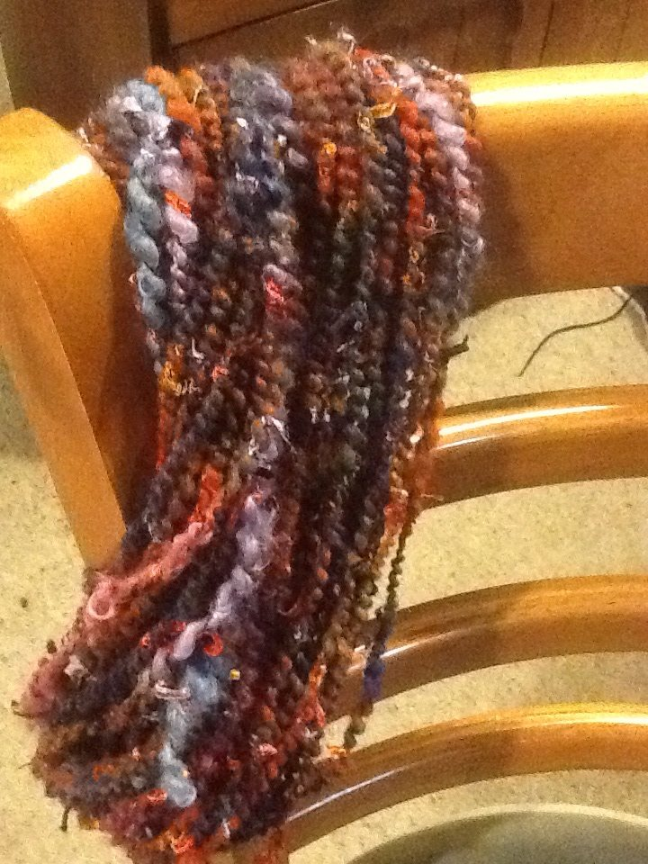 The yarn that Glynis Poad spun during the hangout!