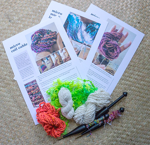 Yarn Recipe Cards: Micro Art Yarns