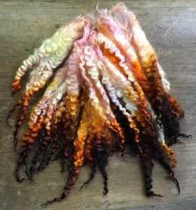 KB - Dyed Fiber - Locks - Magnola