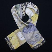 foulard soie homme Klimt Hydre