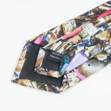 Cravate de soie detail dos