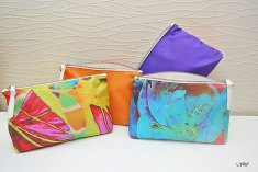 Florence Hirth collection pochettes de soie Lyrio