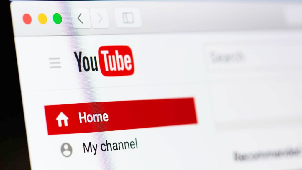 Pantalla YouTube