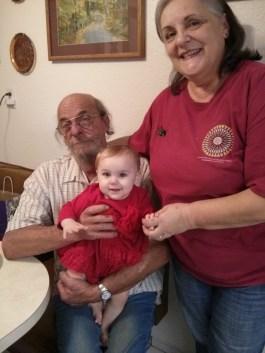 Grampa B, Nani, & Nora