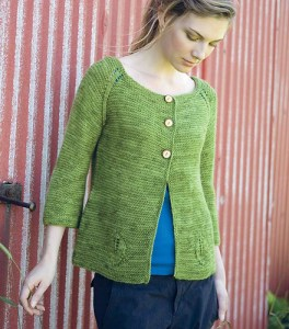 Greenfield Cardigan, from New England Knits