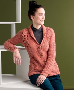 Arts and Crafts Cardigan - Interweave