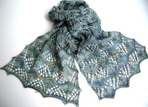 Three Sisters Scarves #2 - Monika Steinbauer