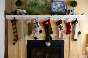 Basic Christmas Stockings - Churchmouse Yarns & Teas