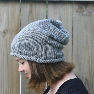 Simple Slouch Hat by Robyn Devine