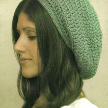 Gumdrop Slouchy Hat by Julie King