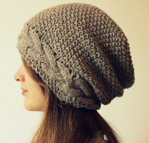 Wavy Moss Hat by Cedar Box Knits