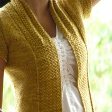 Shifting Sands Cardigan - CustomFit Recipe by Lime Scented