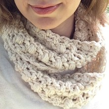 Jiffy Pop Cowl by Cathy Colson