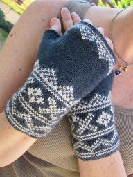 intro fair isle mitts