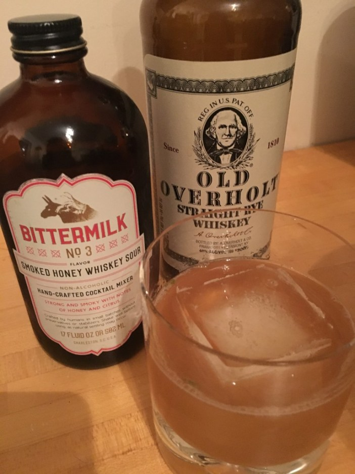 Bittermilk Smoked Honey Whiskey Sour