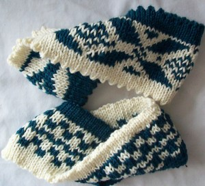 double knit headband