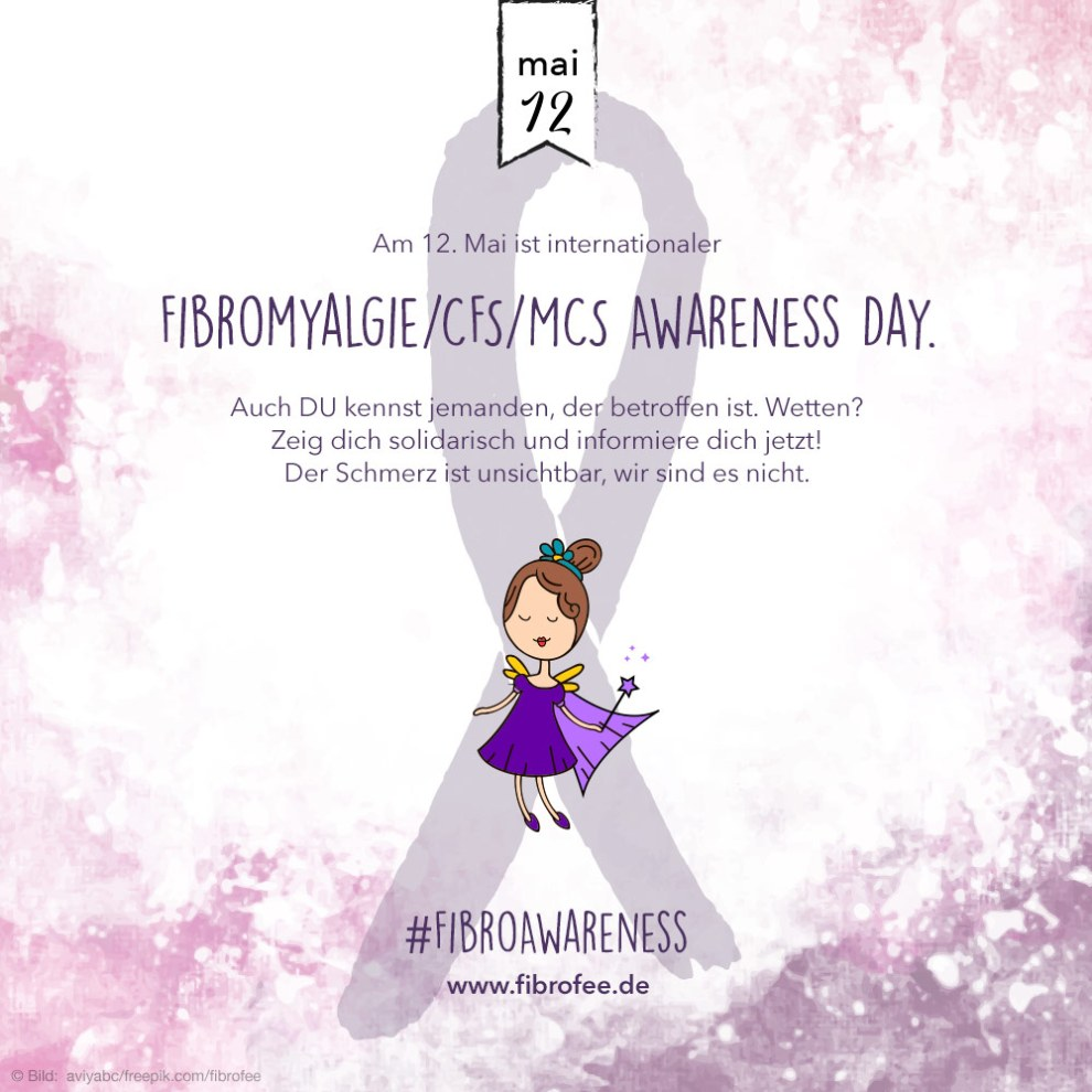 Fibromyalgie, CFS, MCS Awareness Day