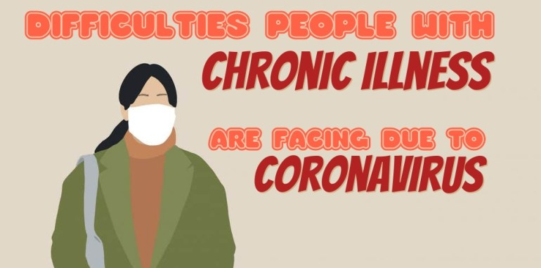 Difficulties people with chronic illness are facing due to Coronavirus outbreak