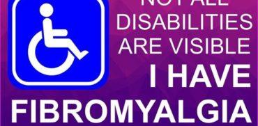 fibro disability sticker