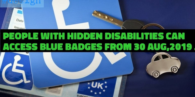 People with hidden disabilities can access Blue Badges for the first time from today