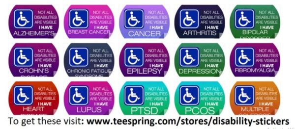 disability stickers