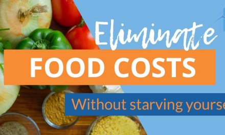 Eliminating Food Expenses Helps Reach Your FI Goals