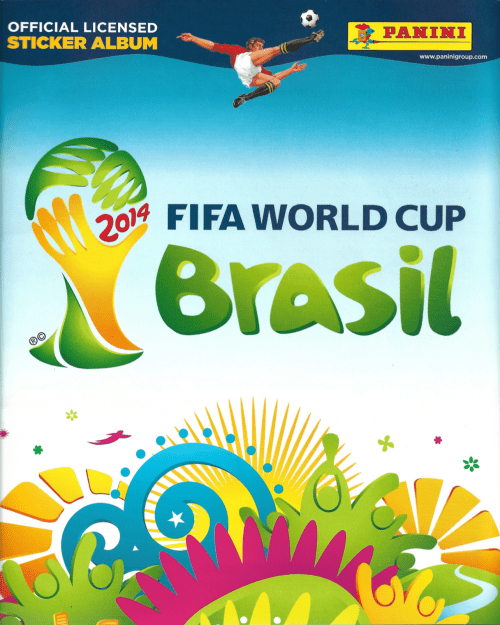 Portada Álbum Panini Mundial Brasil 2014