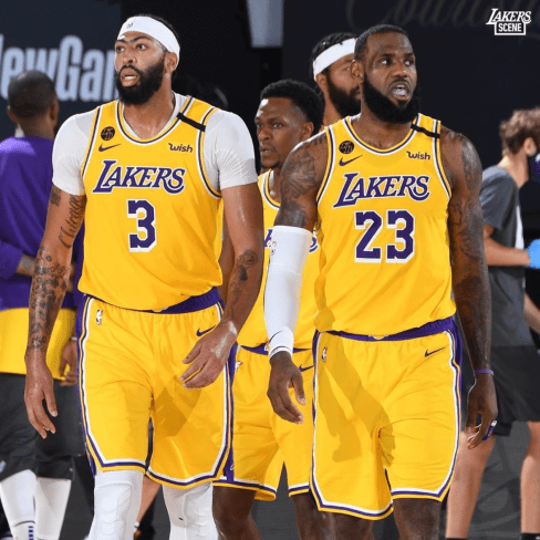 Lakers NBA Playoffs: 24/09/20