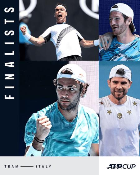 Italia ATP Cup: Semifinales