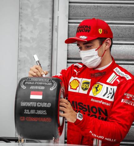 Leclerc Clasificación: Gran Premio de Mónaco