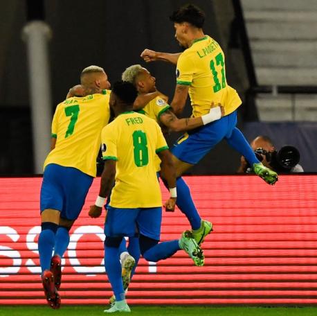 Brasil Copa América 2021: Cuartos de Final