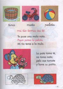 silabario lectura