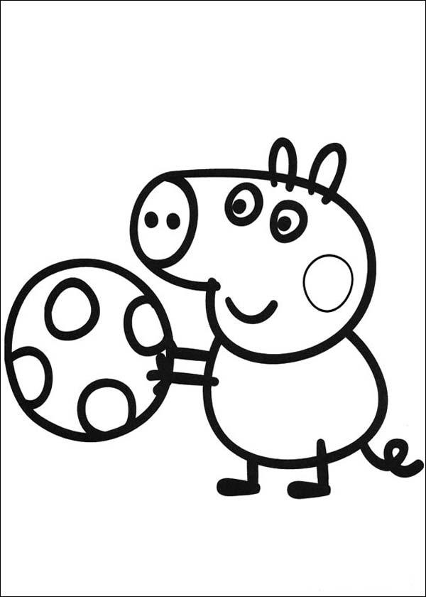 Dibujos Para Colorear De Peppa Pig Fichas De Primaria