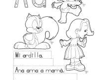 actividades para aprender a escribir la letra a